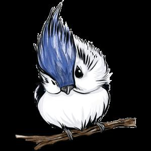 Baby Vogel Illustration aquarell