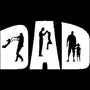 Vater und Tochter Papa 2021 Vatertag Geschenk