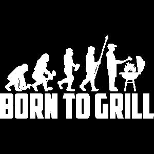 Geboren, um BBQ-Design zu grillen