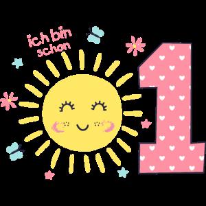 1. Geburtstag niedliche Sonne Geschenkidee
