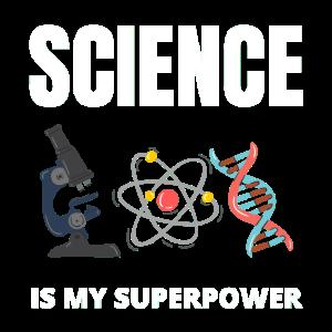 Wissenschaft ist meine Supermacht