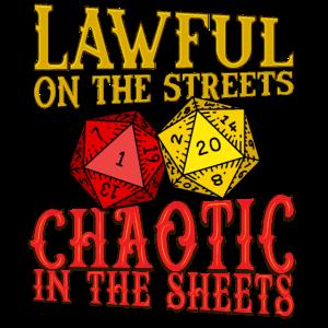 Rechtmäßig und chaotisch