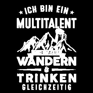 Berge Ich Bin Ein Multitalent Ich Kann Wandern Und