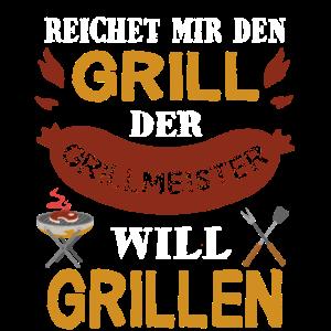 Grillen Grill BBQ Grillzange Grillmeister