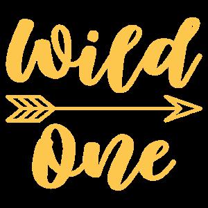 Wild One Geburtstag Geschenk Kinder 1 Jahr