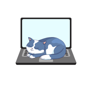 Funny Cats and Computers Halloween Kitty for pet