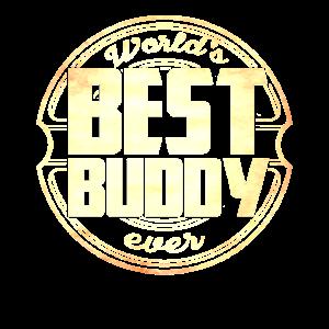 Worlds Best Buddy Ever Bester Freund Motiv