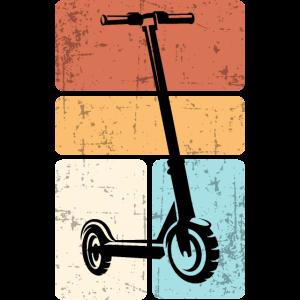 Vintage Retro Stuntscooter Stunt Roller