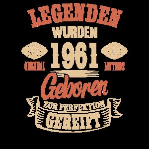 60. Geburtstag Legenden wurden 1961 geboren