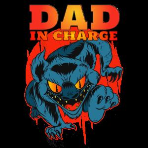 Monster Daddy - Vatertag - Papa hat das Sagen