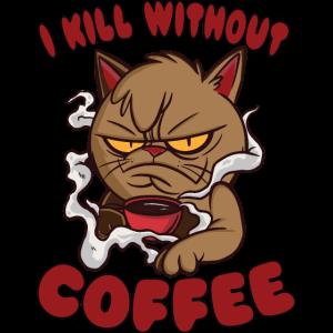 Crumpy Coffee Cat