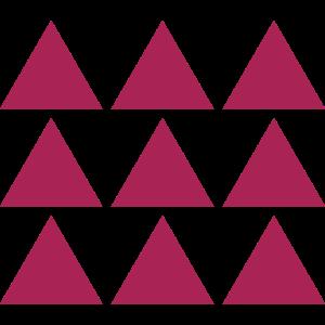 Dreieck Muster Farbe Anpassbar