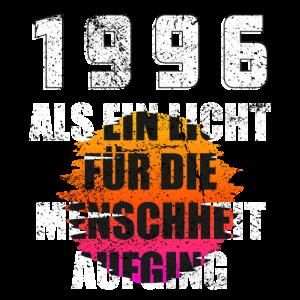 1996 Geburtstag Geschenk Alter Jahre Spruch bunt