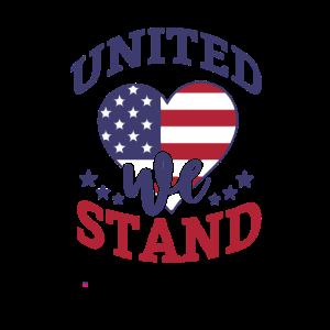 4. Juli USA Feier 1776 Vereint