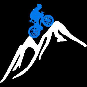 Radsport Mountainbike Rad Berg Alpen action Biker