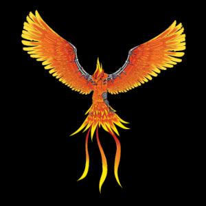 Steampunk Phönix Feuer