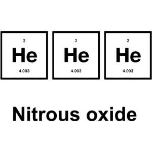 He He Nitrous oxid