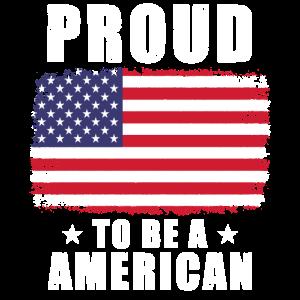 Amerika Stolzer Amerikaner