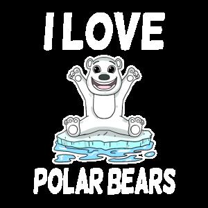 Eisbär Liebe Eisbären Geschenk