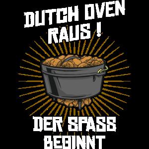 Dutch Oven raus der spaß beginnt dopfen