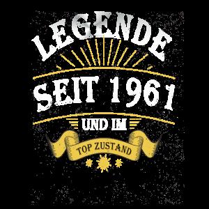 Legende seit 1961 und im Topzustand