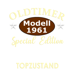OLDTIMER Modell 1961 Special Edition TOPZUSTAND