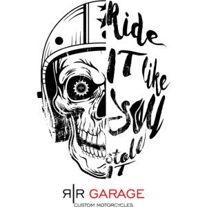 RR Garage Skull rider