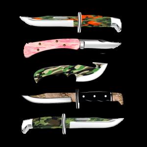 Camouflage Messer