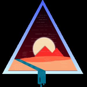 Retro Vintage, Pyramiden