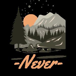 Wandern - Never Stop Exploring