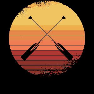 Paddeln Kanu Kajakfahren Ruderboot Rudern Ruder Wa