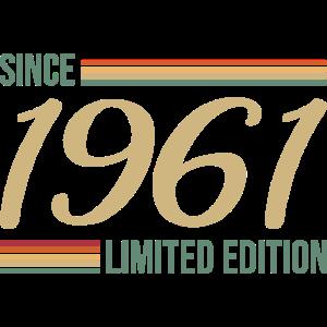 Vintage since 1961 Limited Edition Geschenk