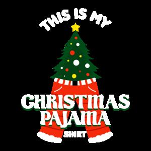 This Is My Christmas Pyjama Geschenk für eine