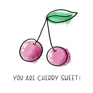 Fruit Puns n°1 Cherry Sweet