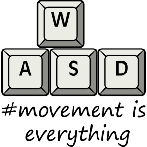 wasd - #movement is everything