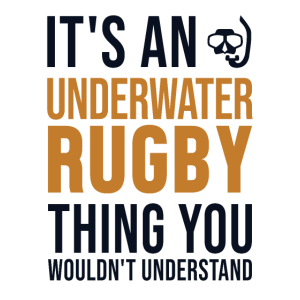 It's a Underwater Rugby Thing UWR
