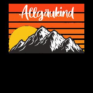Allgäu Allgäuer Berge Allgäukind Alpen