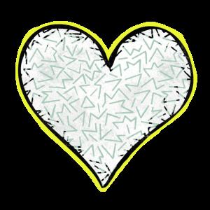 Retro-Herz