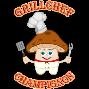Grillchef Champignon BBQ