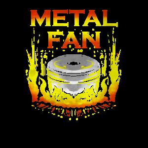 Metal Fan - Lustiges Dutch Oven Dopfen Grill