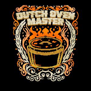 Dutch Oven Master - Dopfen Grill Geschenk