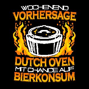Wochenendvorhersage Dutch Oven & Bier Dopfen Grill