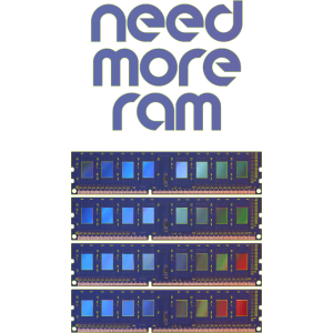 need more ram