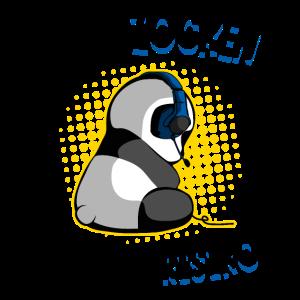 Gaming Panda Zockender Bär Ein Tag ohne Zocken Fun