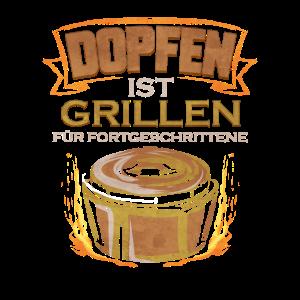 Dutch Oven Dopfen ist Grillen für Fortgeschrittene