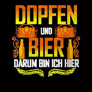 Dopfen und Bier darum bin ich hier - Dutch Oven