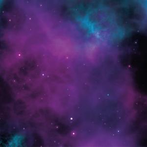 purple blue galaxy nebula sky design
