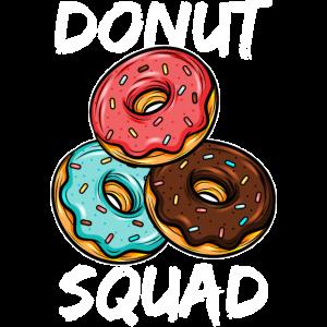 Frische Donut Süßwaren glücklich bestreuen Geschenk