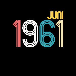 Vintage Juni 1961 - 60. Geburtstag Geschenk