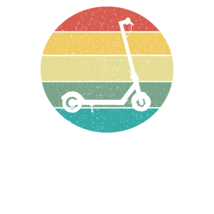 E-Scooter Elektroroller Retro